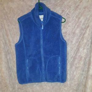 Aeropostale faux fur vest
